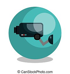 security cam design, vector illustration eps10 graphic