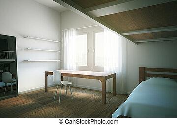 Child room side