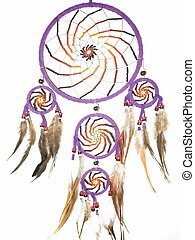 dream catcher - beautiful handmade dream catcher with...