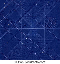 Sacred geometry symbols and elements background Cosmic,...