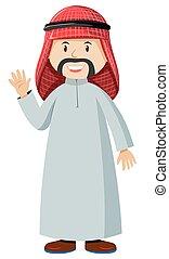 Muslim man in costume