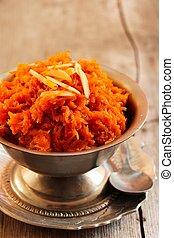 Carrot halwa - Diwali sweet made of carrots milk and sugar...