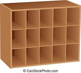 Fifteen sectional Cube Organizer
