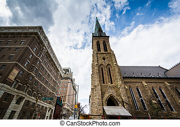 The New Refuge Deliverance Cathedral, in Mount Vernon,...