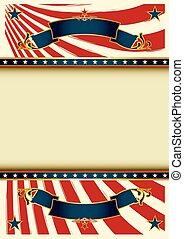 Background vintage USA