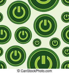 Seamless symbols of inclusion - Seamless texture with green...