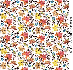 seamless pattern on white background.