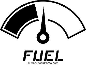 fuel meter needle