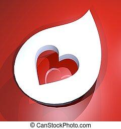 心, 符號