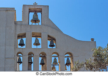 Monastery Prophet Elias - Bell tower of Monastery Prophet...