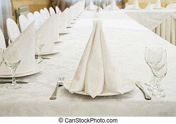Restaurant event. Banquet, wedding, celebration