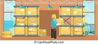Ddelivery Equipment Warehouse - Equipment delivery process...