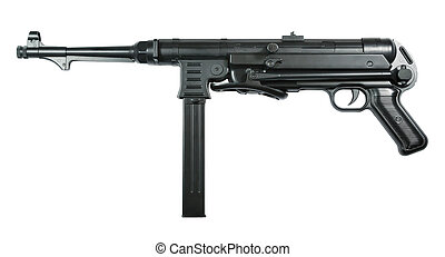 carbine - Picture of isolated carbine with white background....