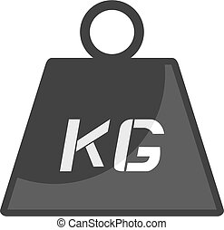 weight icon - Creative design of weight icon