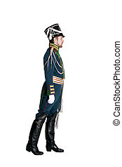 The officer of the Guards Jaeger Regiment Nineteenth Century...