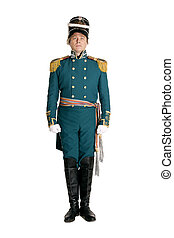 The officer of the Guards naval crew of the nineteenth...