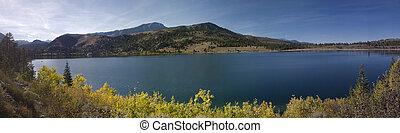Juno Lake - A Panoramic of the Juno Lake at the Californias...