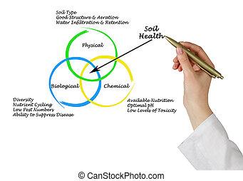 causas, de, tierra, salud,