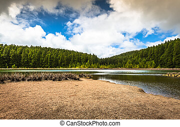 Lakes of Santiago and 7 cidades - Azores, Portugal