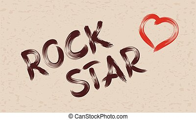 Inscription rock star