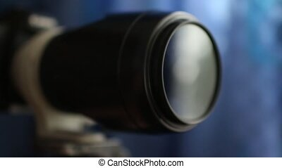 camera lens closeup - camera lens capture shot shallow depth...