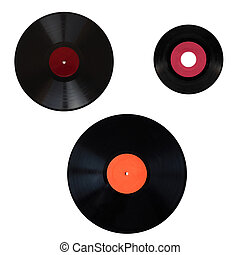 Size comparison of recording media