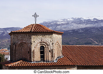 Church of Saint Sophia in Ohrid, Macedonia