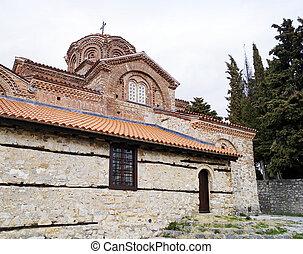 Holy Mary Peribleptos church in Ohrid
