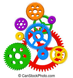 Color gears  - Color gears