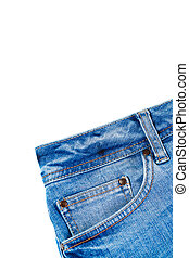 Jeans with Front Pocket Close-Up