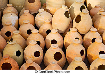 in oman muscat the old pottery  container