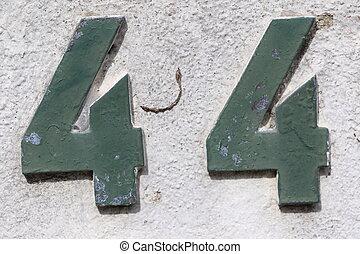 numero, 44,