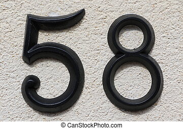 Number 58 - House number 58