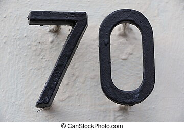Number 70 - House number 70