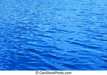 Blue water background  - Blue water background