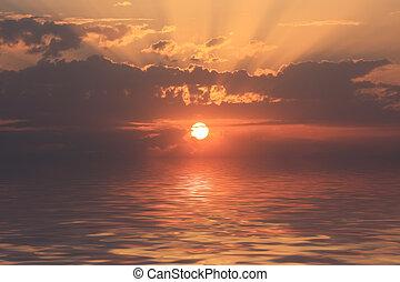 Romantic sunset  - Romantic sunset