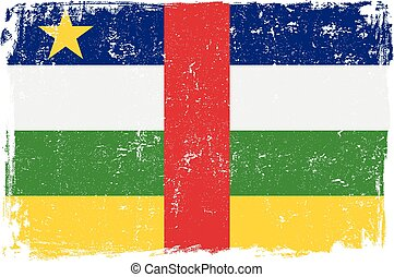 Central African Republic Flag - Central African Republic...