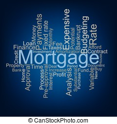 Mortgage tag cloud
