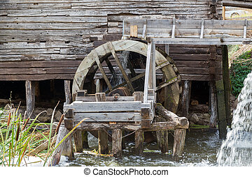 Old water mill - Ancient water mill from the village...