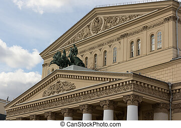 Bolshoi Theater balet Moscow Russia