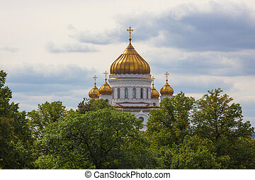 the Christ Savior Cathedral of  Moscow