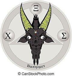 Baphomet, sinal,