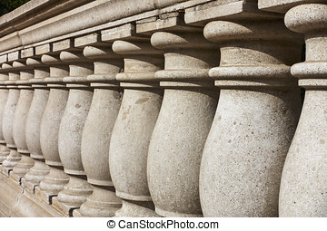 Stone Balustrade - Outdoor balustrade