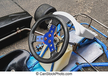 Go kart steering wheel - Go kart racing steering wheel,...