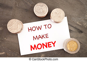 How to make money inspirational quote