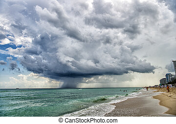 Stormy South Beach - South Beach, Miami, Florida
