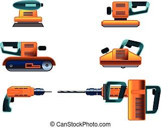 Power tools set