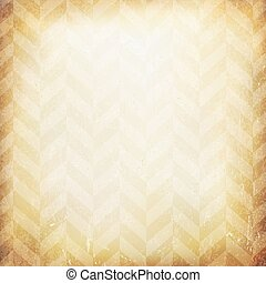 Vintage chevron pattern old paper background