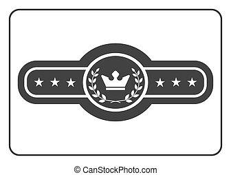 Champion belt icon 5