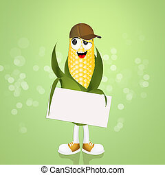 illustration of funny cob